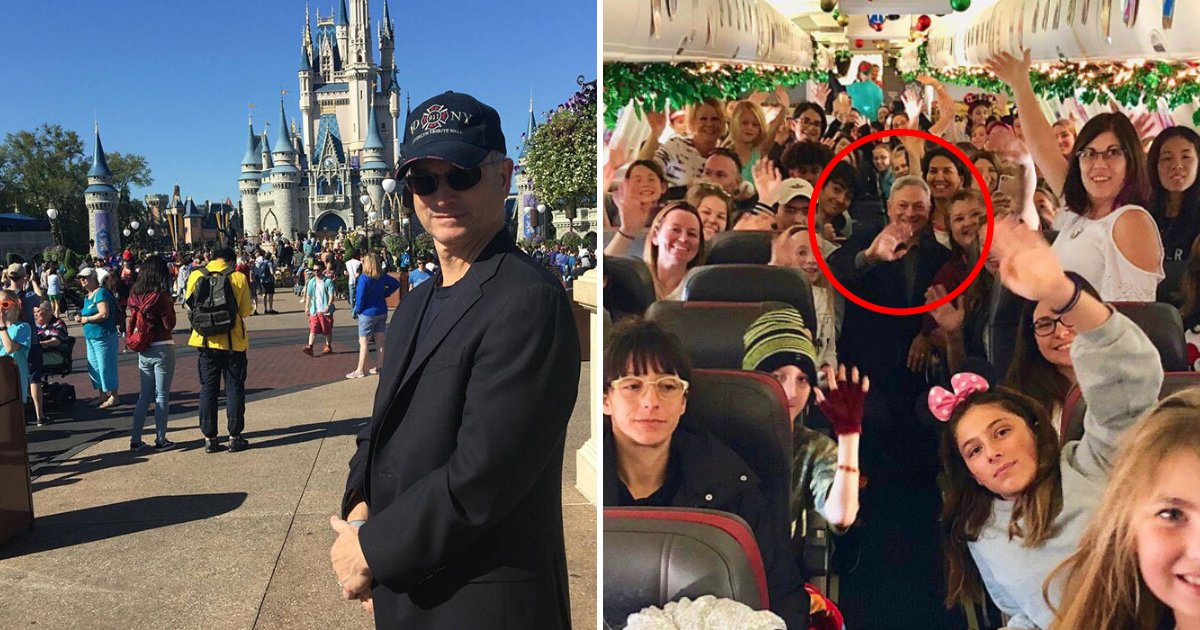 sinise6.png?resize=1200,630 - Famous Actor Took More Than 1,700 Children Of Fallen Soldiers To Disney World