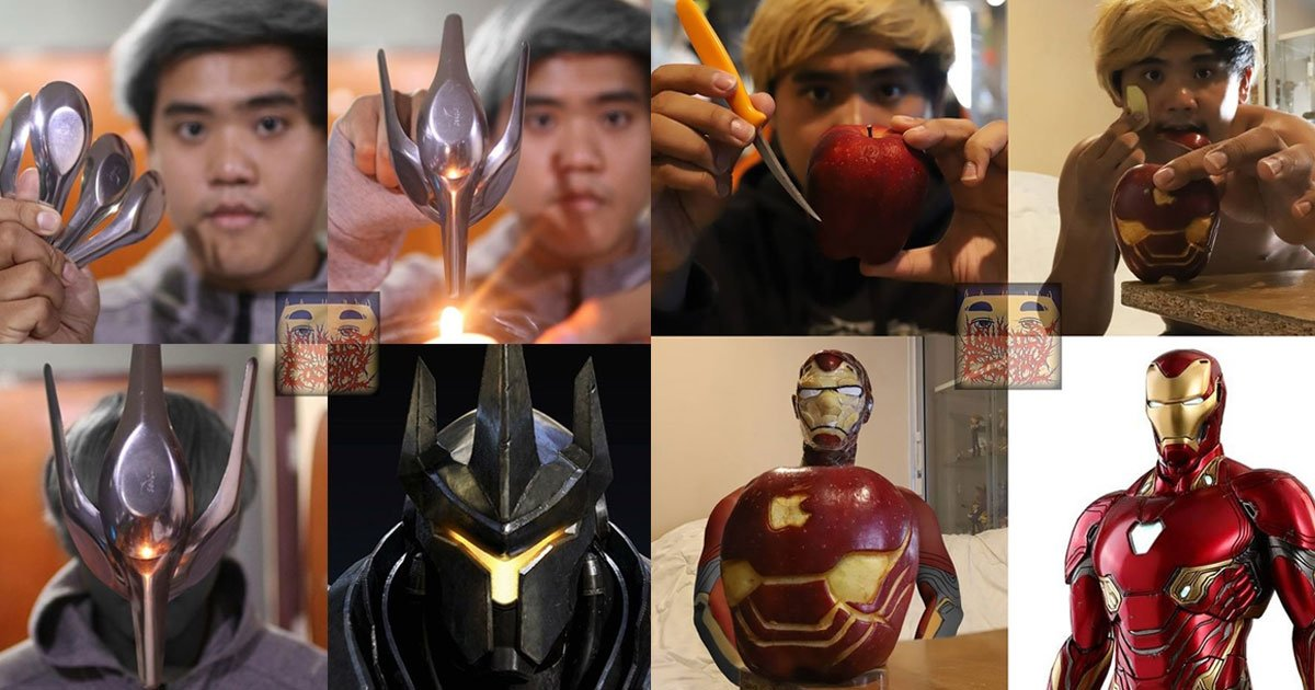 this genius guy creates cosplays out of the most unusual items and the result is amazing.jpg?resize=1200,630 - This Genius Guy Created Cosplay Costumes Out Of The Most Unusual Items