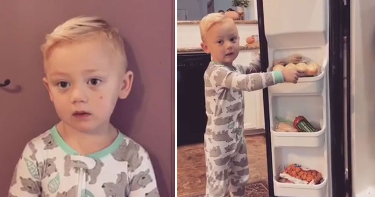 toddler reaction mother ate candies.jpg?resize=412,232 - Reaction Of A Toddler After His Mother Told Him She Ate All His Candies