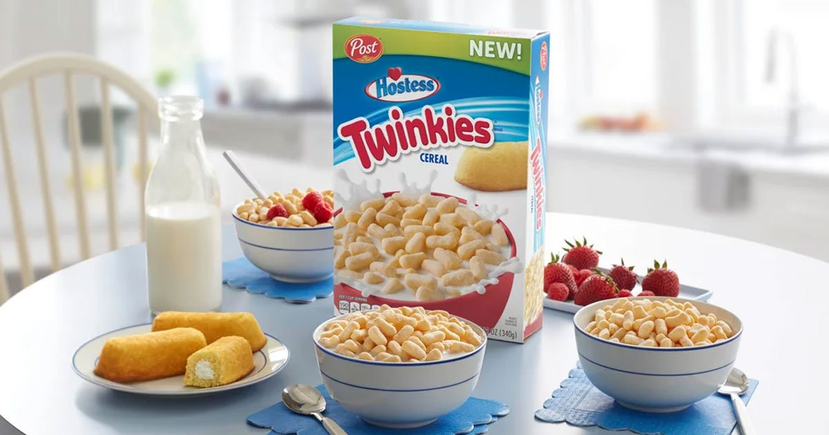 twinkies cereal coming to groceries nationwide.jpg?resize=412,232 - Twinkies Cereal Is Now A Thing And Coming To Grocery Stores Nationwide