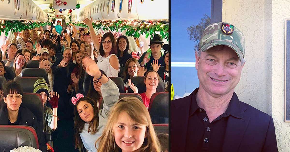 untitled 1 1.jpg?resize=300,169 - L'acteur Gary Sinise a emmené gratuitement à Disneyland plus de 1 000 enfants de soldats tombés au combat