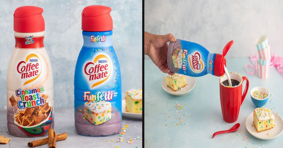 untitled 1 77.jpg?resize=412,232 - Coffee-Mate Is Launching 'Cinnamon Toast Crunch' And 'Funfetti' Creamers