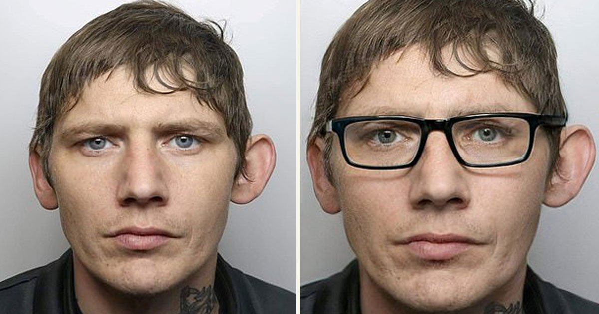 untitled 1 79.jpg?resize=412,232 - A Man Tried To Disguise Himself From The Police By Wearing Glasses