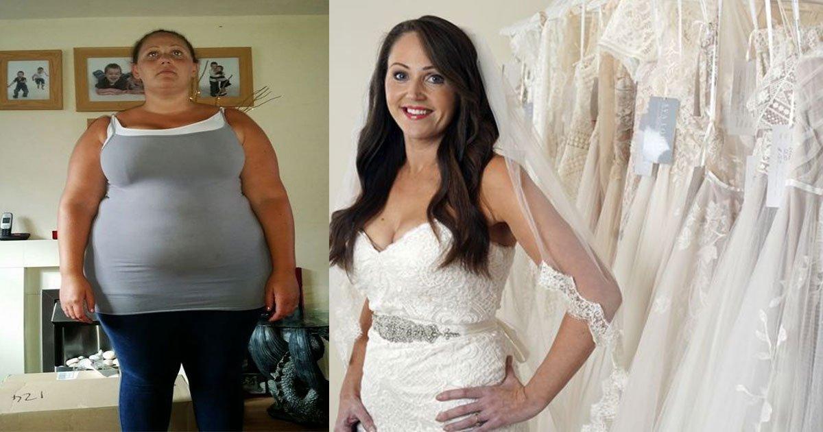 untitled 1 89.jpg?resize=412,232 - Cette femme attend 18 ans avant de se marier : Le temps d'atteindre le corps qu'elle désirait