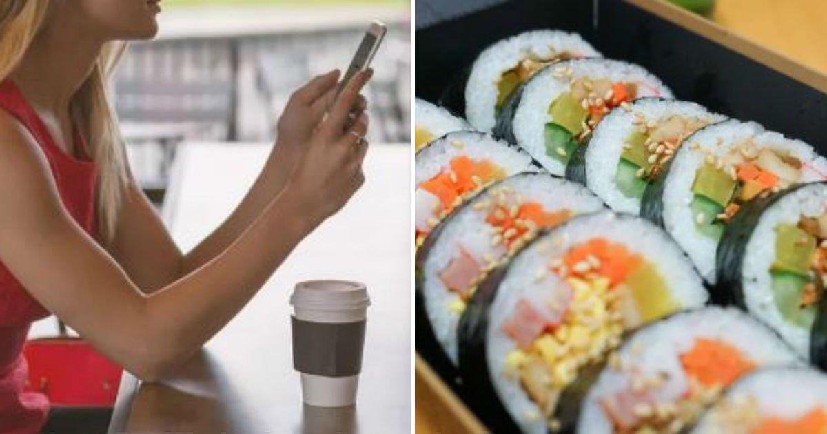 """untitled 125.jpg?resize=1200,630 - """"카페 아르바이트생이 일하다가 김밥을 먹네요. 너무 불쾌합니다"""""""
