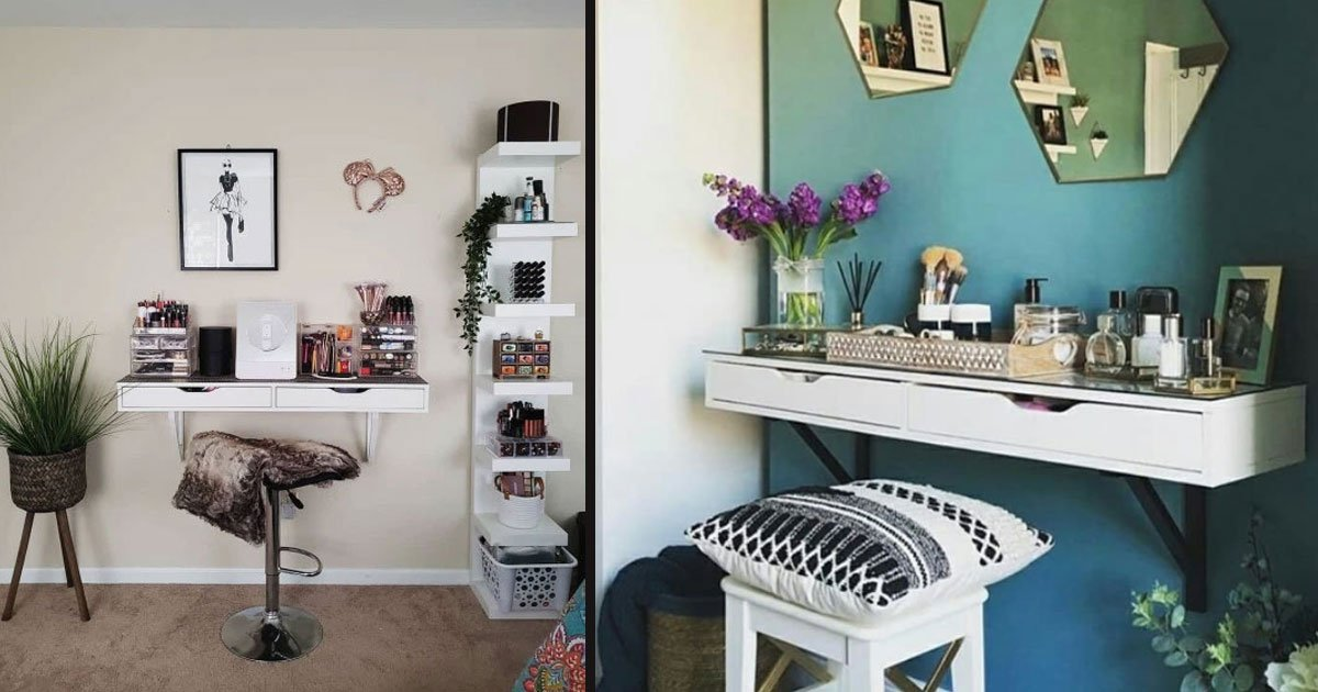 untitled 2 3.jpg?resize=412,232 - People Are Turning $50 Drawers From Ikea Into Their Dream Dressing Table