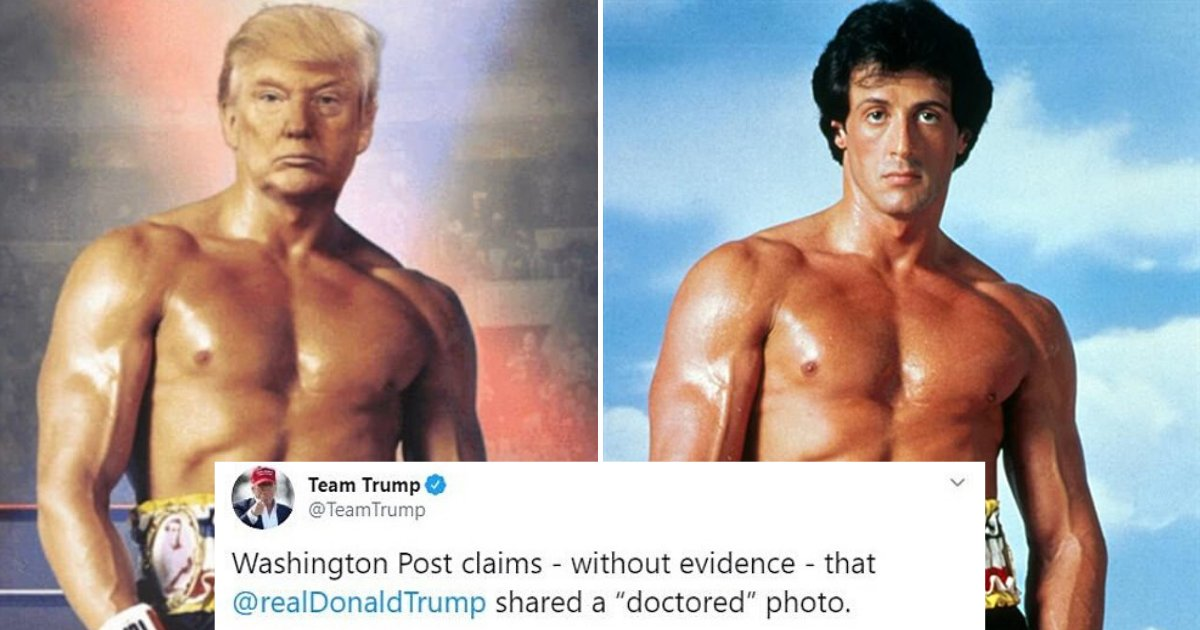 untitled design 10 1.png?resize=412,232 - Donald Trump Mocked The Media Who Called His Edited Rocky Balboa Photo 'Doctored'