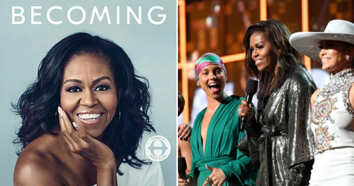 untitled design 66 1.png?resize=412,232 - Michelle Obama Nominated For Grammy Award For Audio Book Of The Becoming