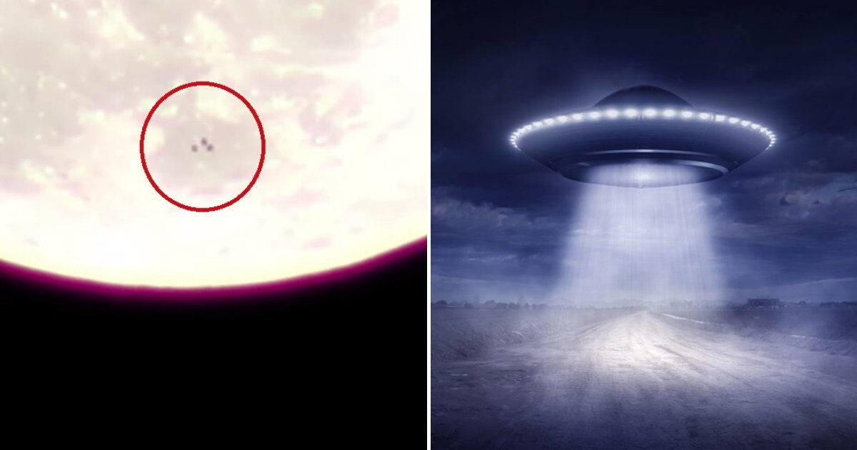 untitled design 80 1.png?resize=412,232 - Several UFOs Caught On Camera Flying Past The Moon With Incredible Speed