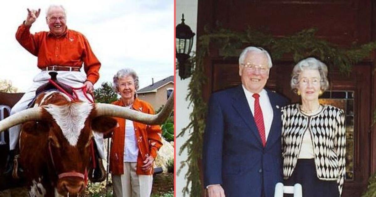 y1 6.jpg?resize=412,232 - Un couple du Texas qui fête son 80e anniversaire de mariage a été proclamé le plus vieux couple vivant au monde