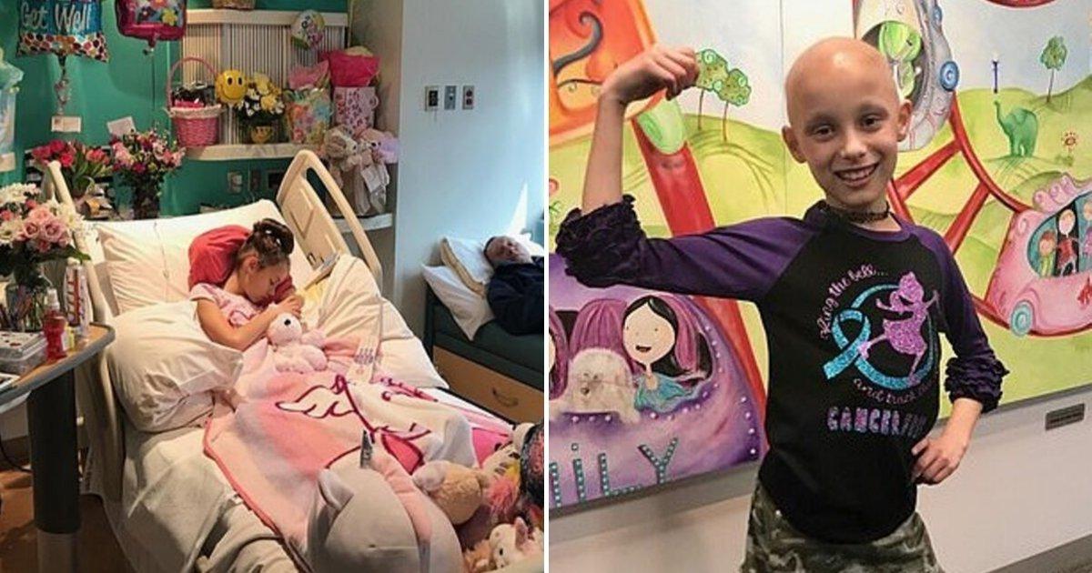 1 27.jpg?resize=412,232 - Niña De 9 Años Sale Orgullosa Después De Ganarle La Batalla A Un Tumor De Ovario