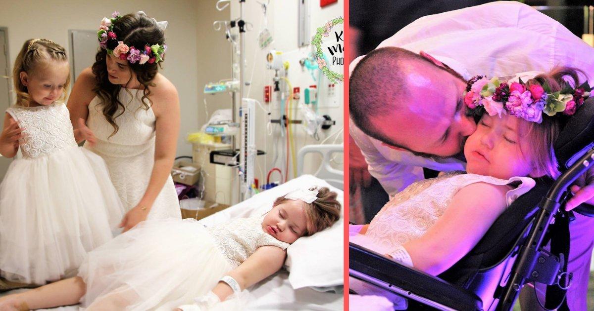 1 289.jpg?resize=1200,630 - Pareja Organiza Su Boda En Un Hospital Porque Su Hija Estaba Muriendo Lentamente