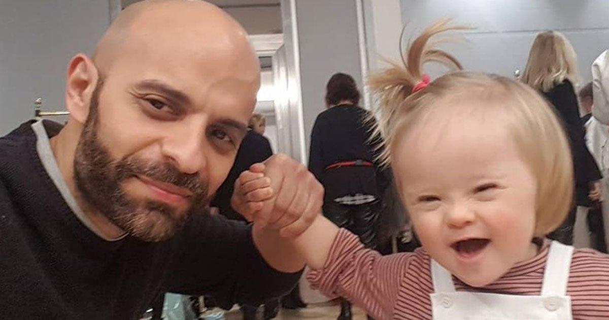 1 295.jpg?resize=412,232 - Hombre Soltero Adoptó A Bebé Con Síndrome De Down, Luego De Que Su Madre La Rechazara
