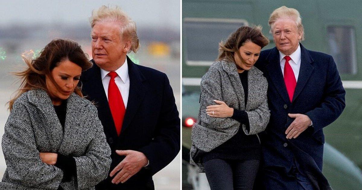 1 317.jpg?resize=412,232 - El Presidente Trump Sale Con Papel Higiénico Colgando De Su Zapato Otra Vez
