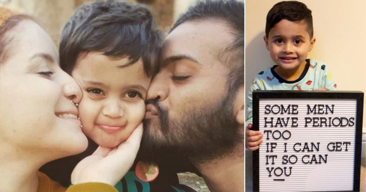 1 61.png?resize=412,275 - A Woman Posted A Picture of Her 4 Year Old Son Holding A Board With A Controversial Statement
