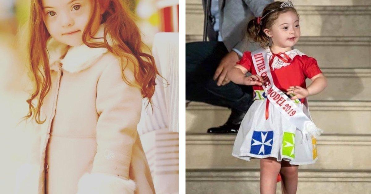 1 81.jpg?resize=412,232 - Ella Tiene 4 Años, Síndrome De Down Y Un Brillante Futuro Como Modelo
