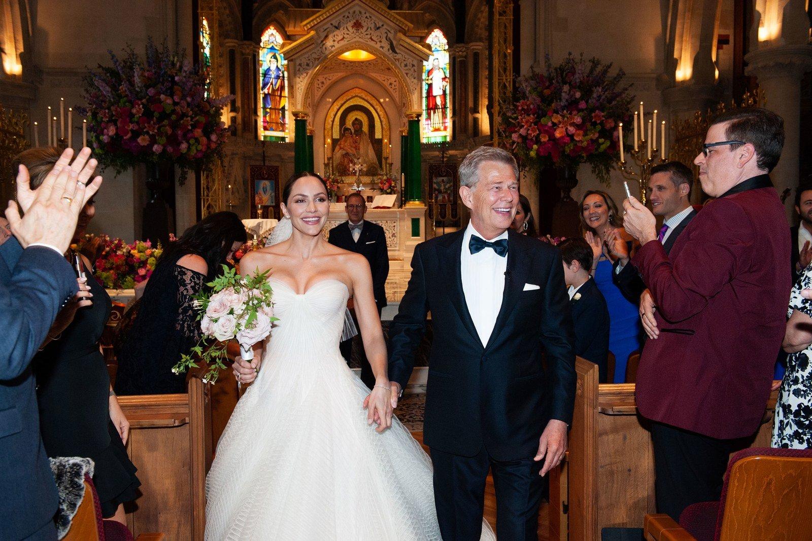 Resultado de imagen de Katharine McPhee and David Foster wedding