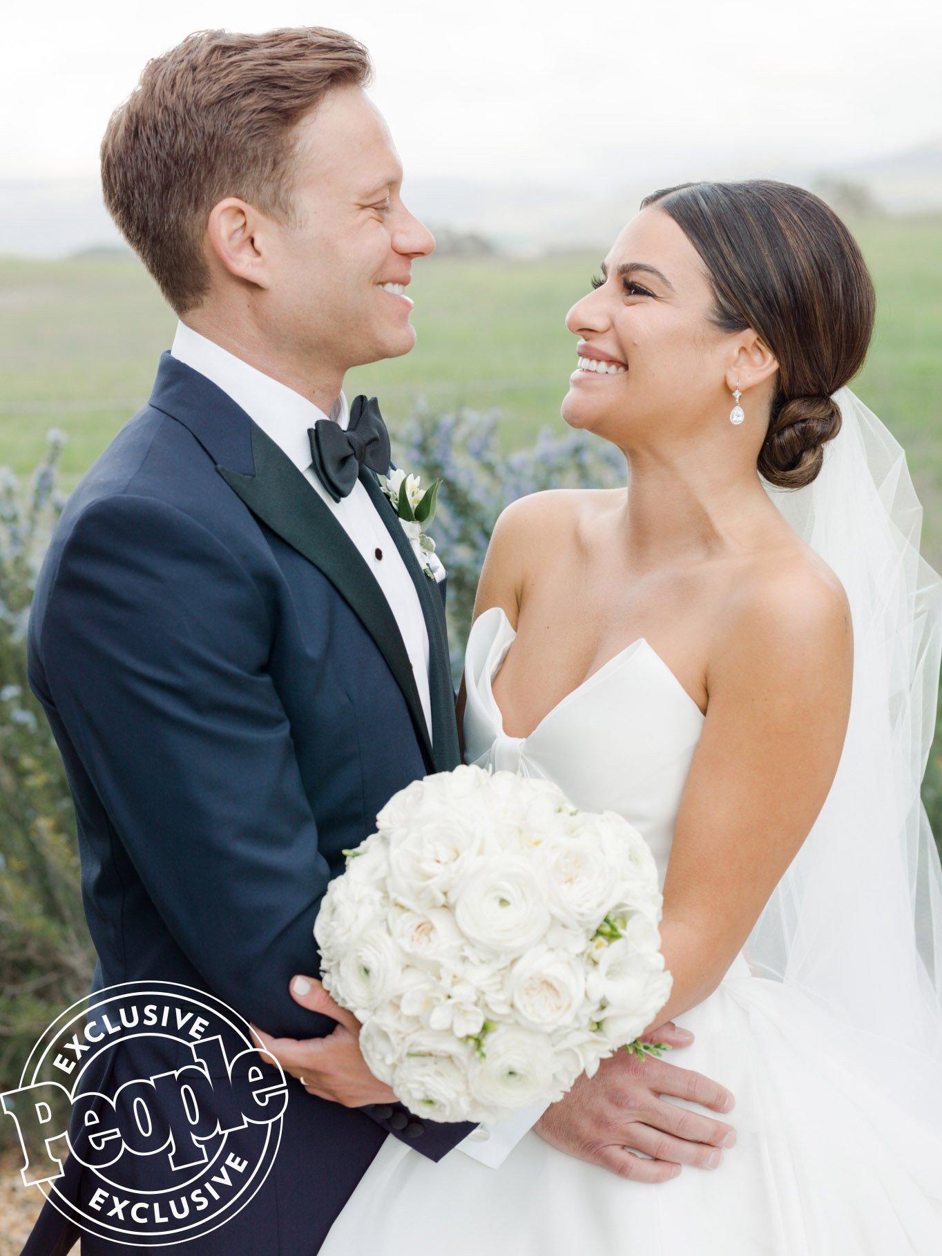 Resultado de imagen de Lea Michele y Zandy Reich wedding