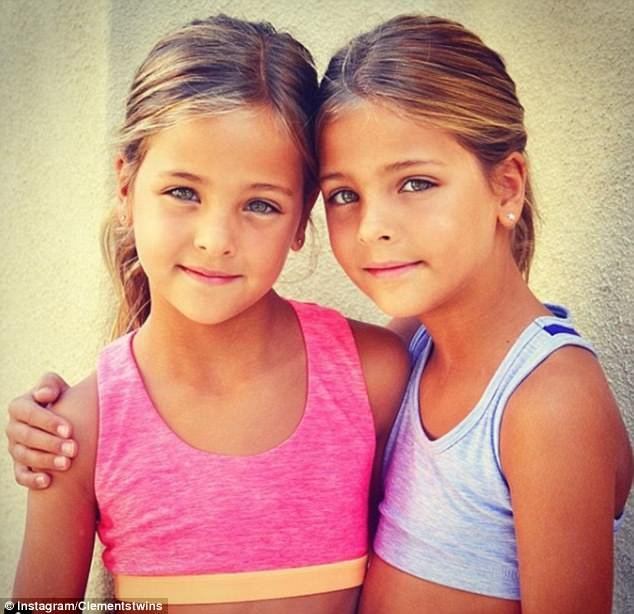 Both girls love performing and jumped at the chance when their mother suggested modelling