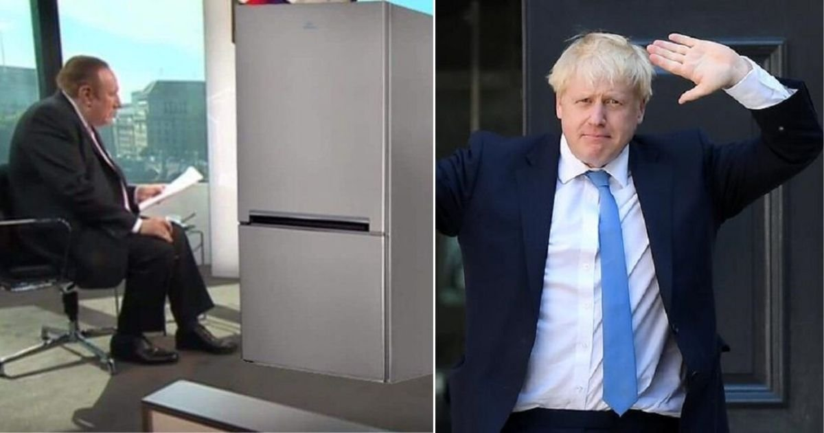 2 200.jpg?resize=1200,630 - Boris Johnson, Prime Minister of UK Hides in The Refrigerator to Escape Interview On TV