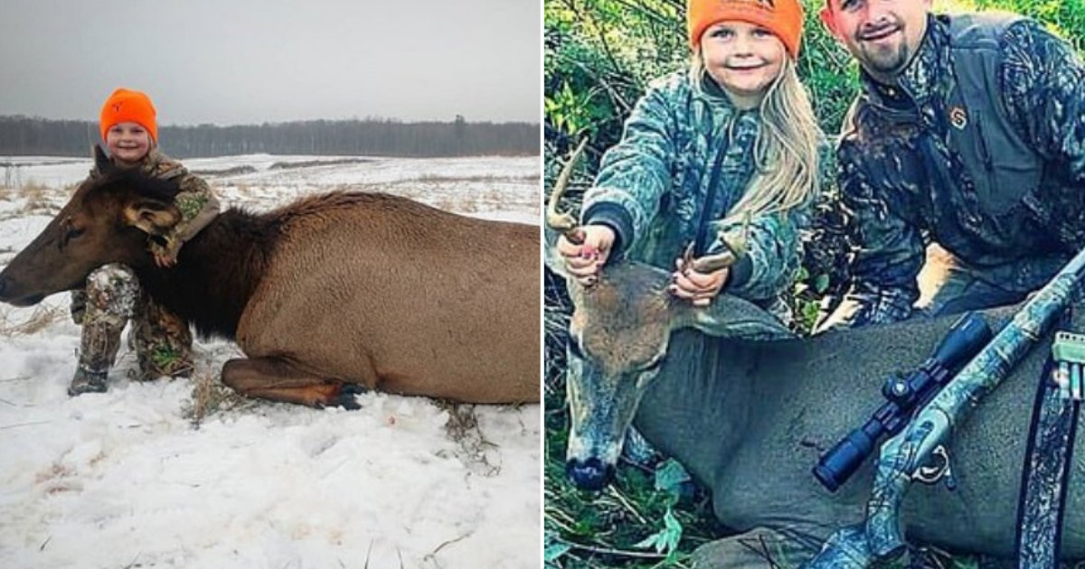32 2.png?resize=1200,630 - Eight Year Old Michigan Girl Broke The Record By Being the Youngest Person To Hunt An Elk