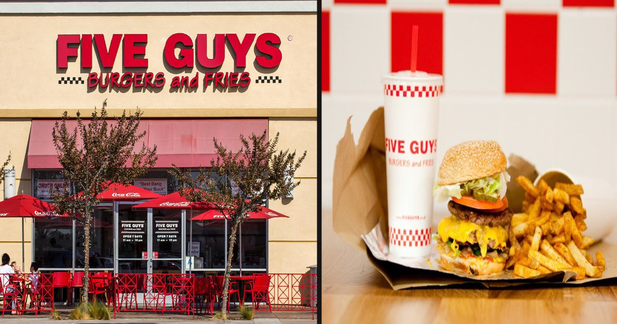 33 1.jpg?resize=1200,630 - Five Guys Is Giving Away Free Meals To Celebrate Its New Restaurant's Opening