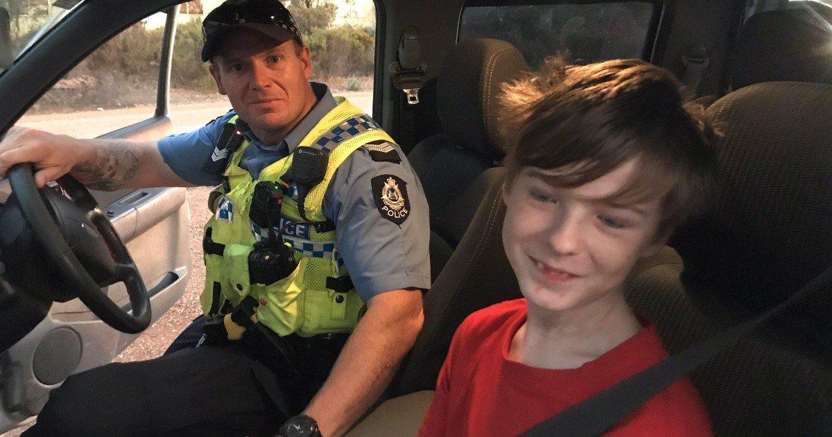 5 65.jpg?resize=412,232 - Un garçon de 12 ans a fui un feu de brousse près de chez lui en conduisant la voiture de son frère