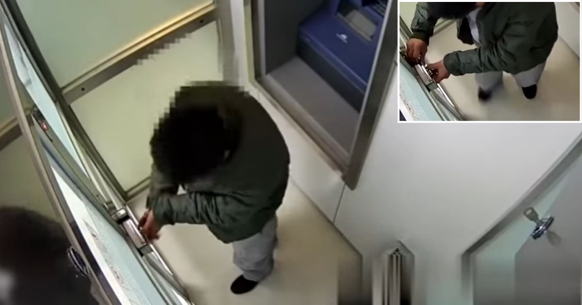 5 87.jpg?resize=1200,630 - Robber Locks Himself Inside An ATM To Steel Money And Then Forgets How To Open The Lock Again