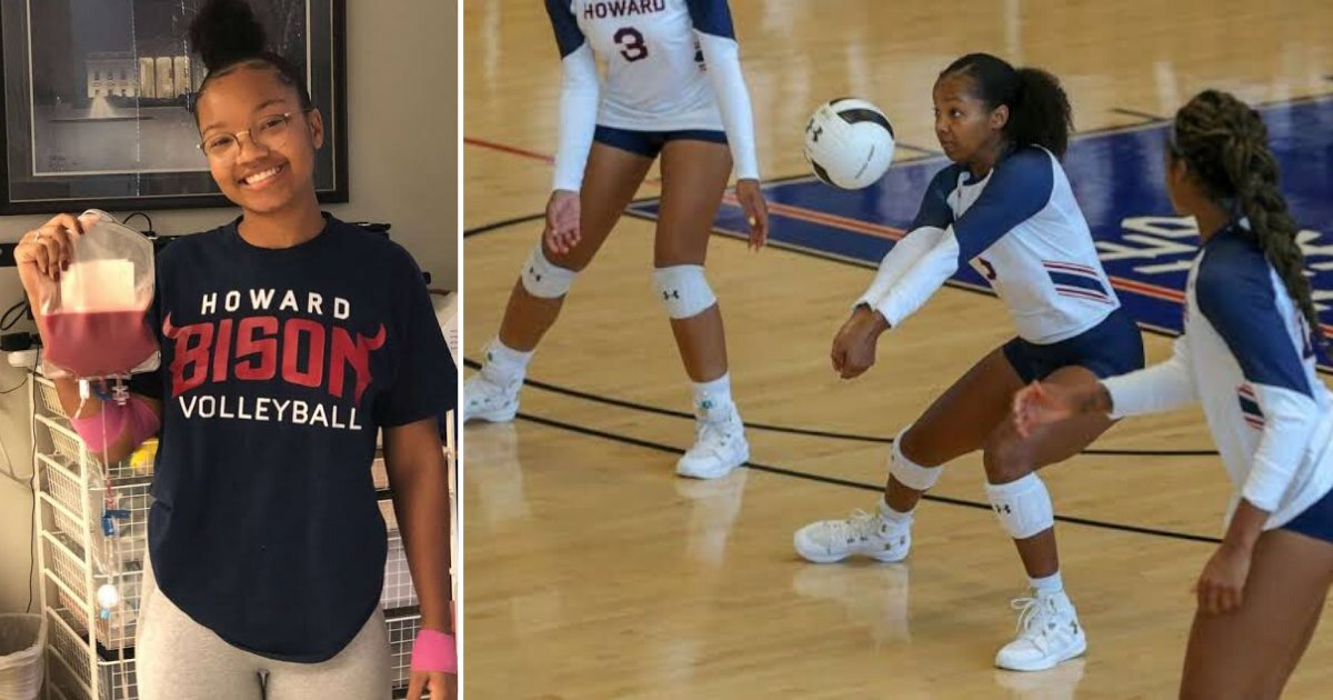 6 8.png?resize=1200,630 - Volley Ball Player of Howard University Skipped The Final Match to Donate Stem Cells to a Complete Stranger