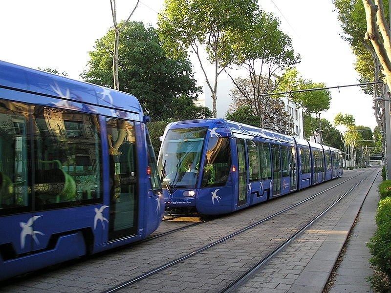 800px montpellier tramway remorque 14082009a.jpg?resize=300,169 - Au moins 41 blessés lors de la collision de deux tramways à Montpellier