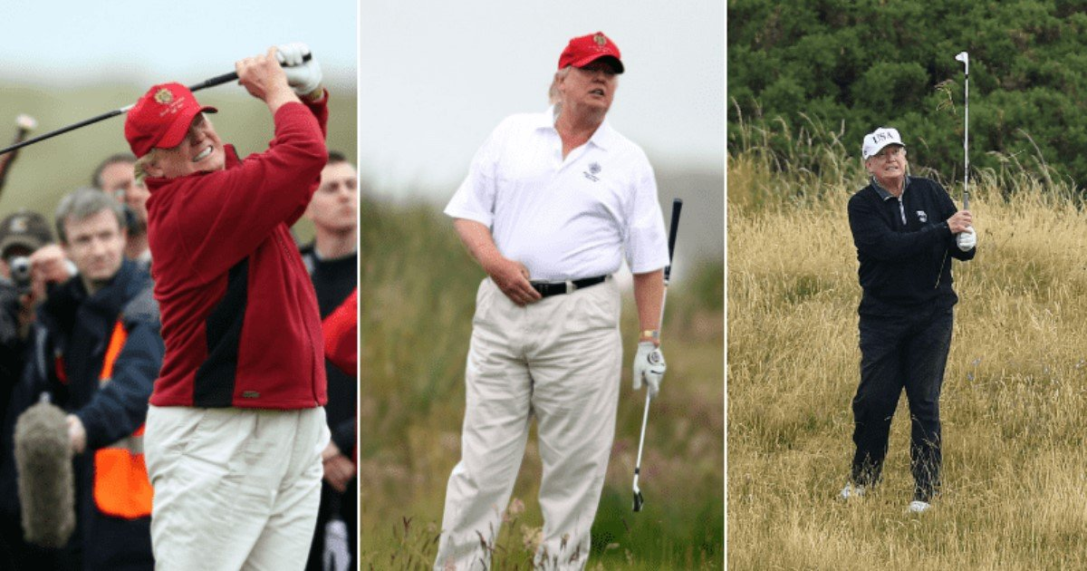 a 2.jpg?resize=1200,630 - Trump May Have Spent Millions Of Dollars To Play Golf During His Presidency, A Source Claimed