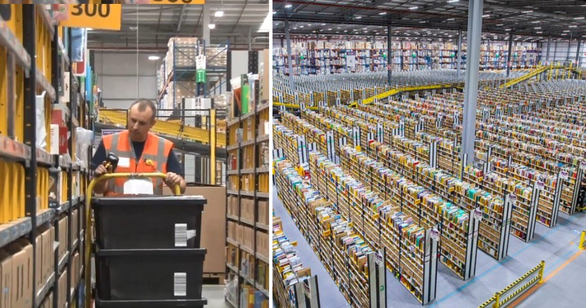 a 3.jpg?resize=1200,630 - Workers In Amazon's Biggest Depot In UK Busy At Work As They Prepared For Black Friday