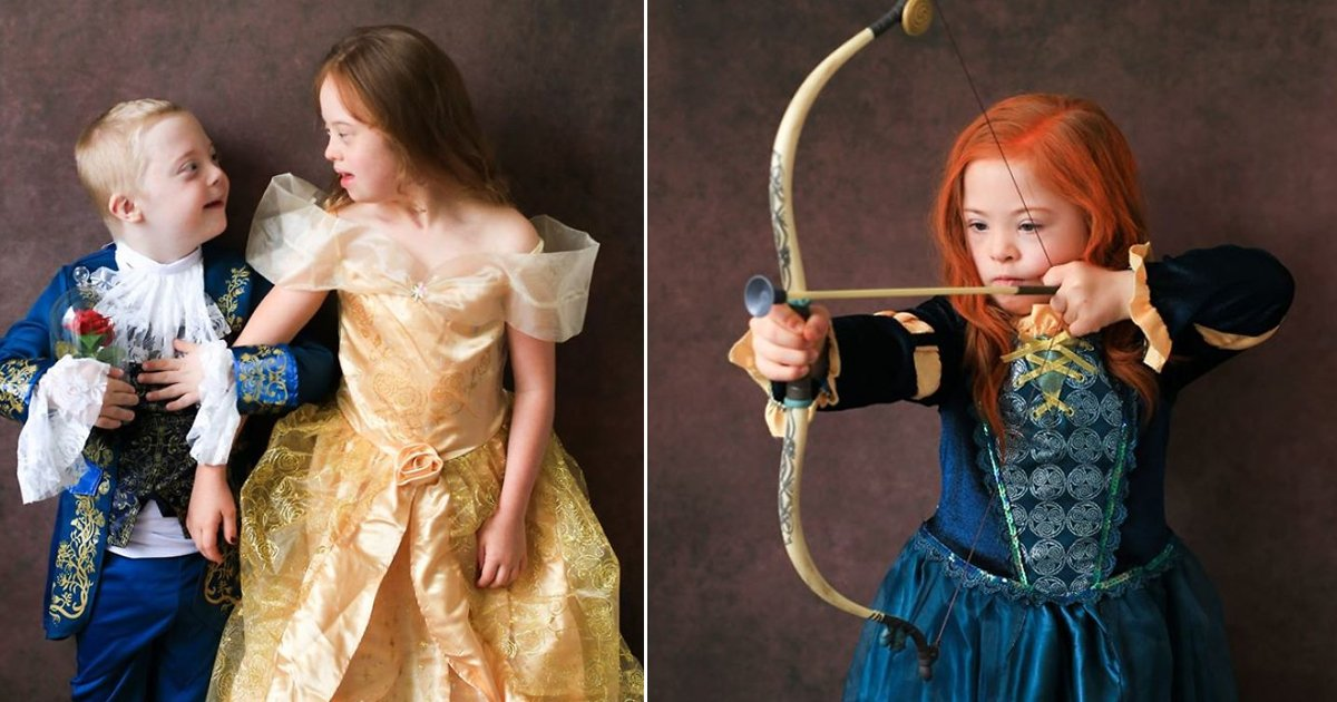 agagdasdg.jpg?resize=412,232 - Children With Down Syndrome Dressed As Disney Characters For A Beautiful Awareness Campaign