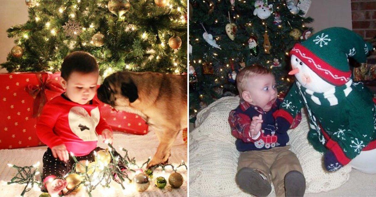 babies.png?resize=300,169 - 10+ photoshoots de bébés de Noël ratés qui montrent les attentes vs. la réalité