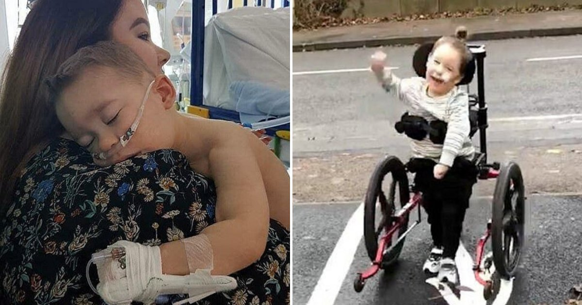 bleu6.png?resize=412,232 - 4-Year-Old Boy With Severe Cerebral Palsy Walked For The First Time