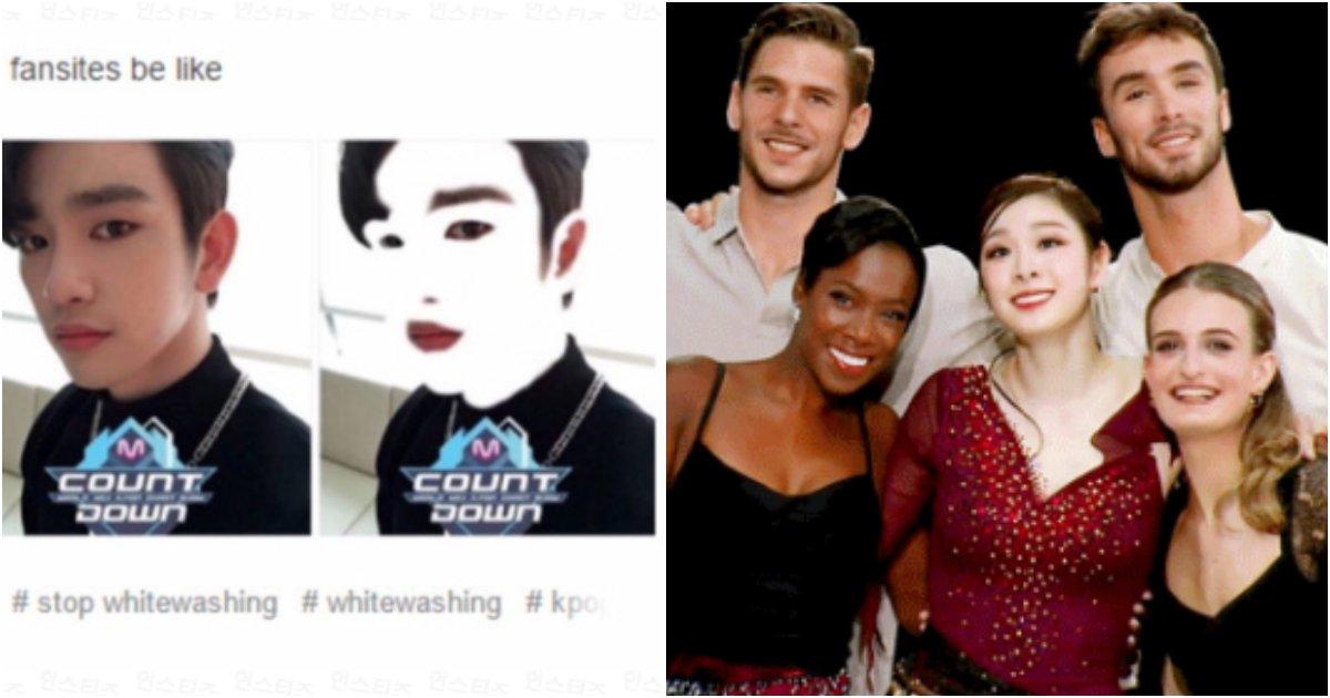 collage 37.png?resize=412,232 - 한국인이 하얗다는 것을 인정하지 못하는 동남아 팬들의 술수jpg