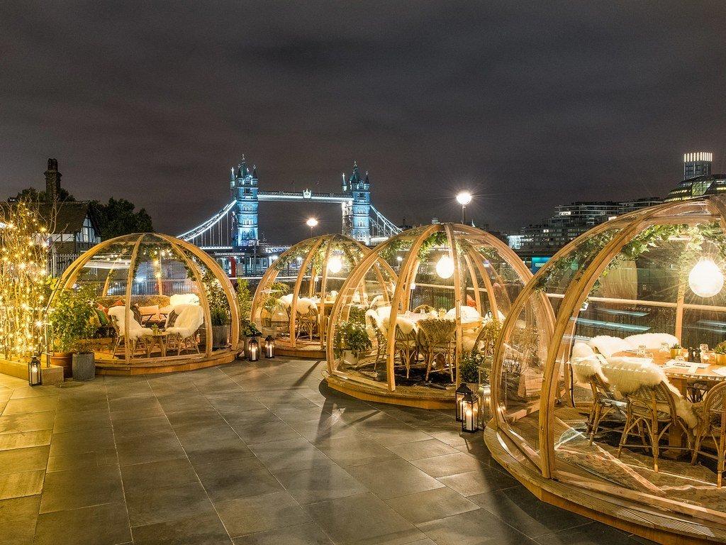 coppa club instagram.jpg?resize=412,232 - Pour un repas hivernal atypique : Direction Londres pour manger à l'extérieur dans des bulles chauffées