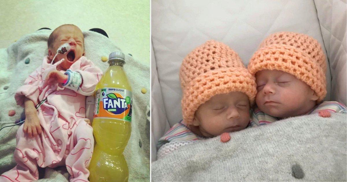 d1.png?resize=412,232 - Quand ces sœurs jumelles sont nées elles faisaient la taille d'une bouteille Fanta