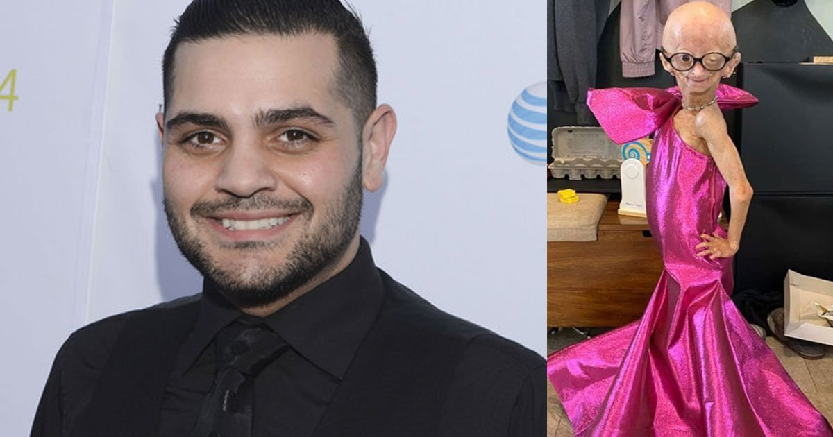 designer michael costello surprised a fan suffering from early aging disorder with dresses.jpg?resize=412,232 - J. Lo's Designer, Michael Costello, Surprised His Fan Who Has Early-Aging Disorder With Custom-Made Dresses