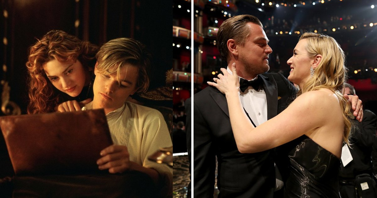 dsfsdfsdf.jpg?resize=574,582 - 23 Years Of Friendship For Leonardo Dicaprio And Kate Winslet And This Is Amazing