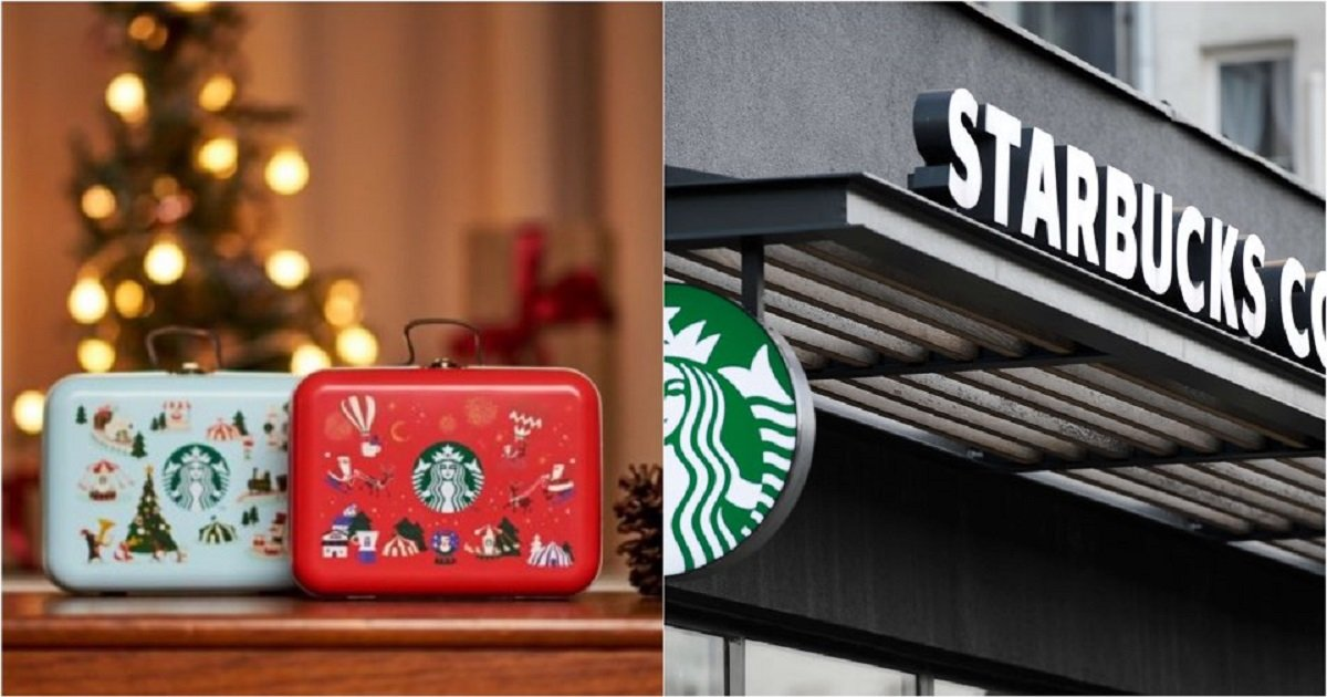 "kakaotalk 20191202 185010901.jpg?resize=1200,630 - ""뭐야 너무 귀엽잖아ㅠㅠ?""....스타벅스,오늘 2일 크리스마스 한정판 '쿠키 틴백' 출시"