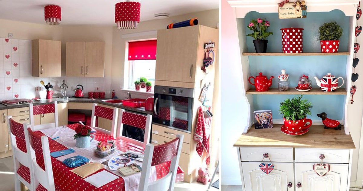 kitchen revamp.jpg?resize=412,232 - This Is How This Woman Revamped Her Boring Council Home Kitchen For Just £218