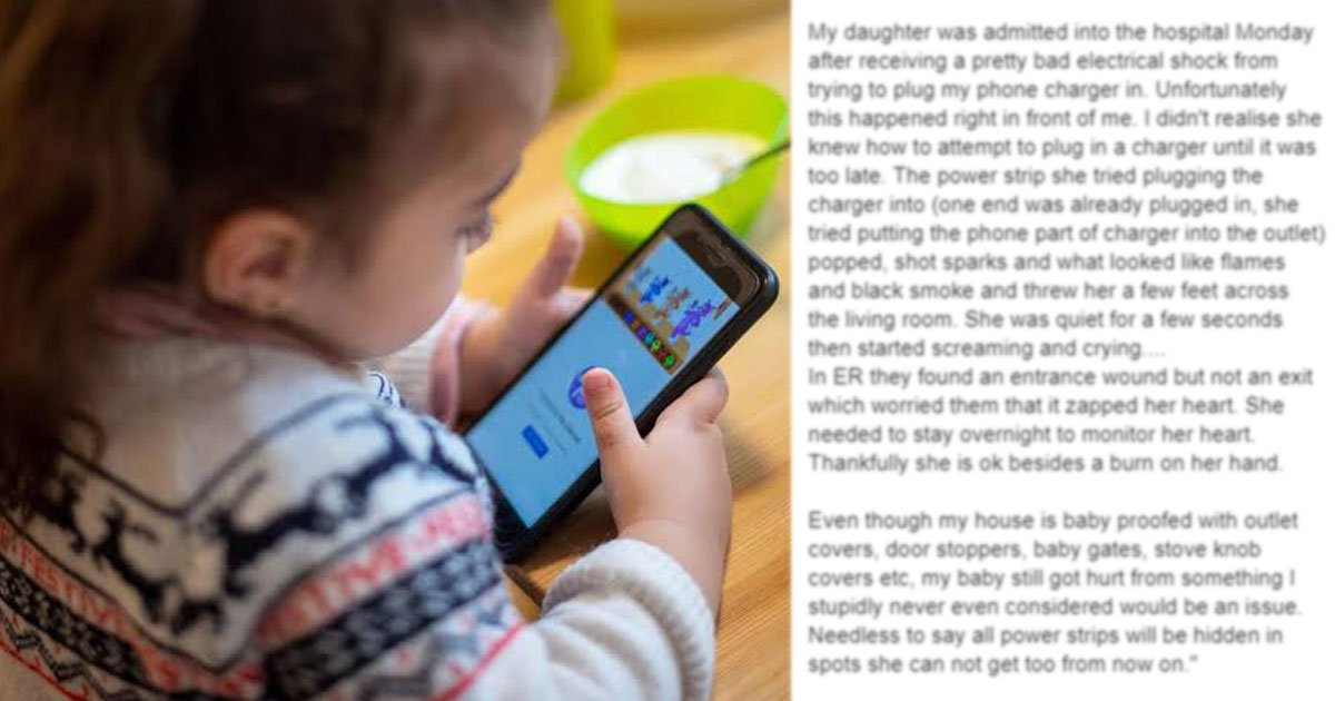 mobile chargers warning.jpg?resize=412,232 - Mother Warned Everyone To Be Careful While Using Mobile Phone Chargers After What Happened With Her Little Girl