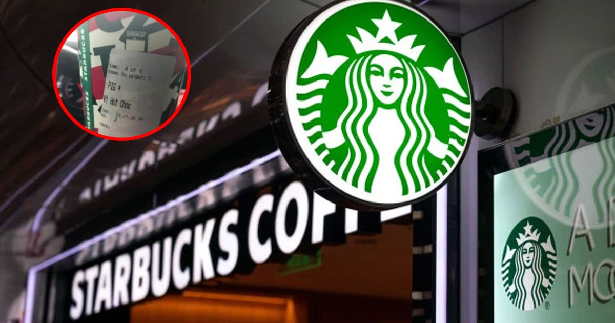 starbucks employee fired for writing pig on oklahoma police officers coffee order.jpg?resize=1200,630 - Starbucks Employee Dismissed For Writing 'Pig' On A Police Officer's Coffee Order
