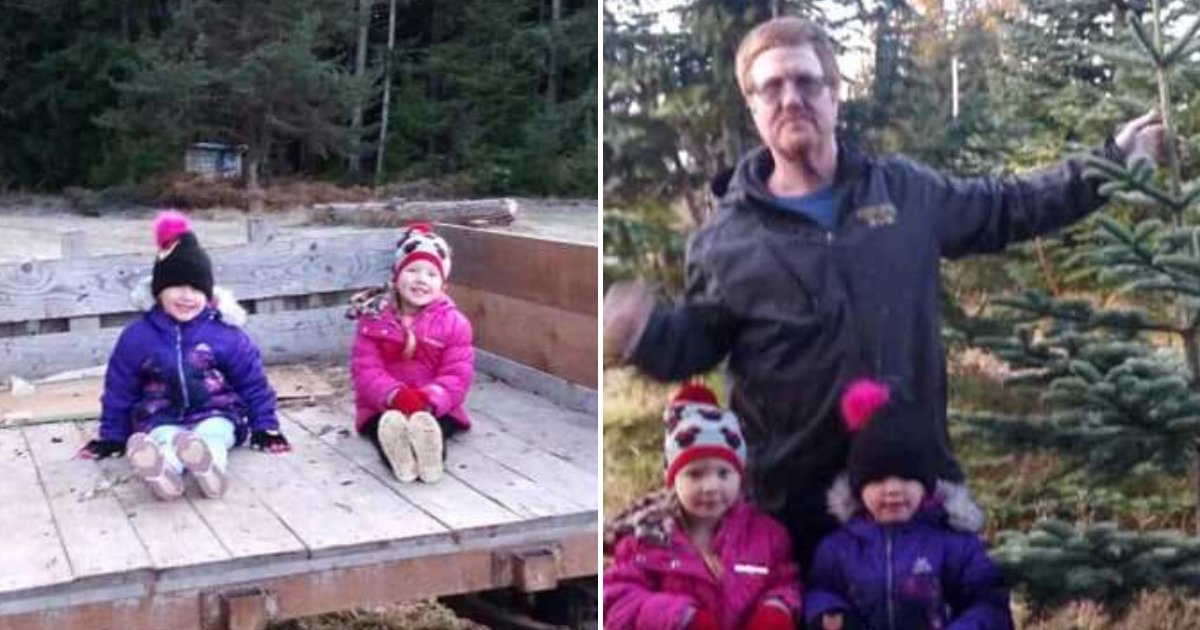 twins5 2.png?resize=1200,630 - Two 4-Year-Old Girls Climbed Out Of Car Wreck And Climbed Up An Embankment To Get Help For Injured Dad