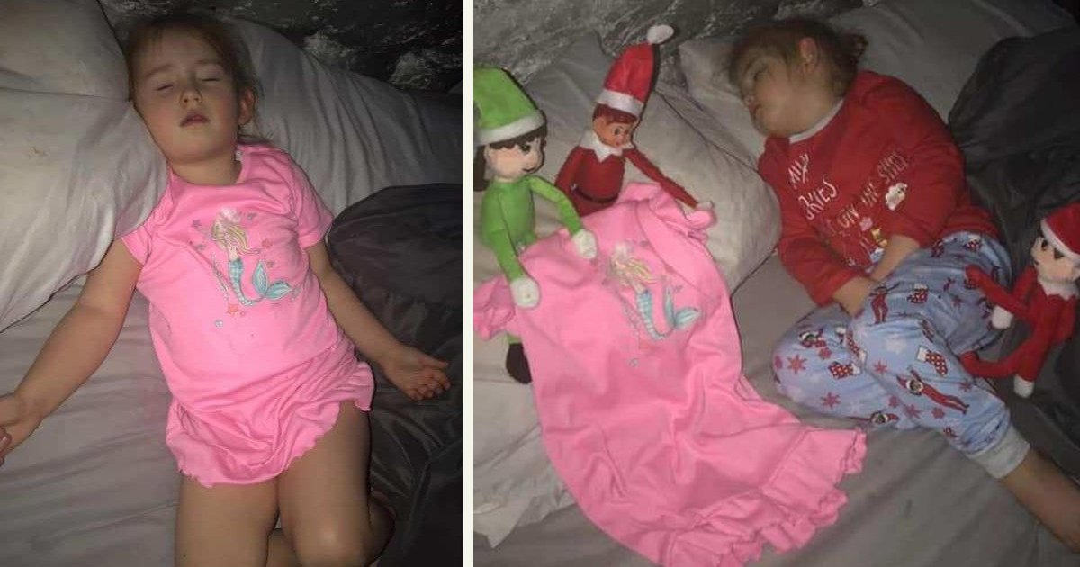untitled 1 102.jpg?resize=1200,630 - A Mom Changed Her Daughter's Clothes At Night And Blamed It On Elf On The Shelf