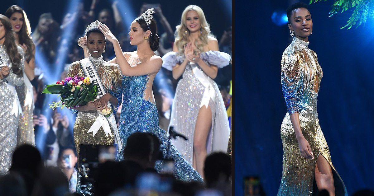 untitled 1 38.jpg?resize=300,169 - Miss South Africa, Zozibini Tunzi, Was Crowned The Miss Universe 2019: 'May Every Little Girl See Their Faces Reflected In Mine'