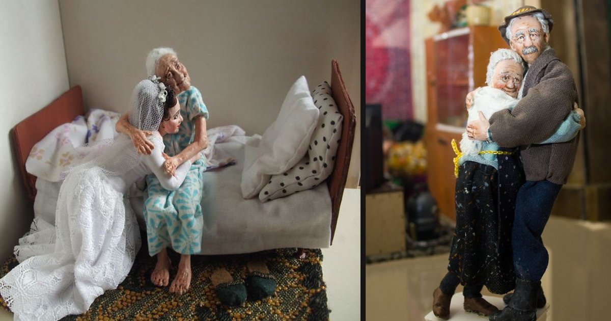 untitled 1 7.jpg?resize=1200,630 - A Doll Master Created Miniature Figures To Depict Ordinary Lives Of The Elderly
