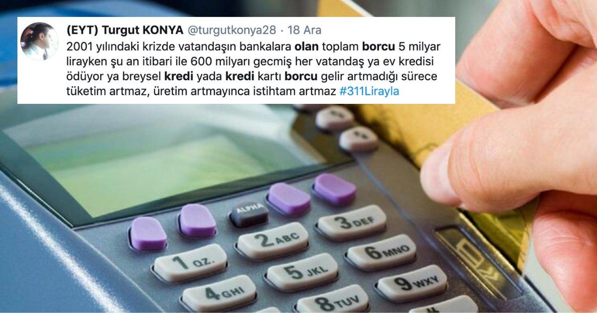 untitled design 4 3.png?resize=1200,630 - Türkiye'de 2019 İtibarıyla 31,5 Milyon Borçlu Olunca Ülkece En Çok Konuştuğumuz Şey Kredi Oldu!