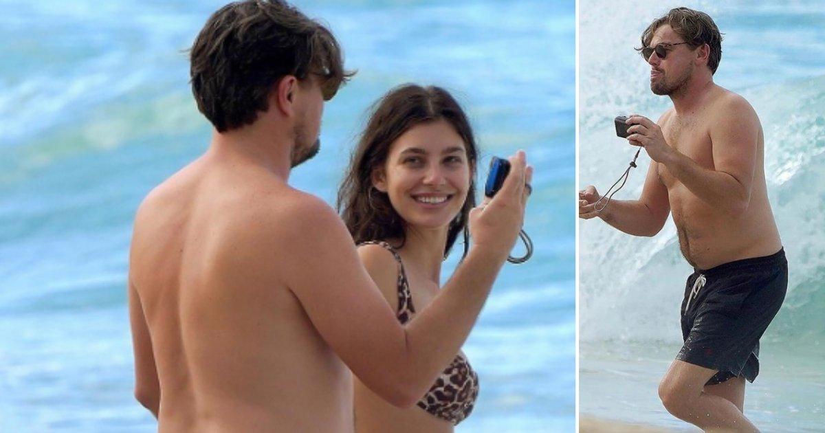1 10.png?resize=412,232 - Leonardo DiCaprio, 45 ans, était en vacances à St Barth avec sa petite amie, Camila Morrone, 22 ans